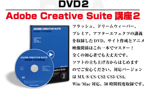 DNA2 動画でわかるAdobe Creative Suite